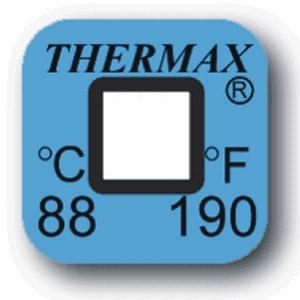 Termometri irreversibili Thermax a singolo rilevamento